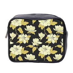 Pattern Rose Mini Toiletries Bag 2 Side by AnjaniArt