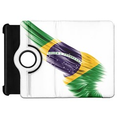 Flag Of Brazil Kindle Fire Hd 7  by Onesevenart