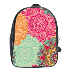 Art Abstract Pattern School Bags (xl)  by Onesevenart
