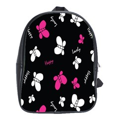 Butterfly School Bags (xl)  by AnjaniArt