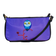 Owl Spider Shoulder Clutch Bags by AnjaniArt