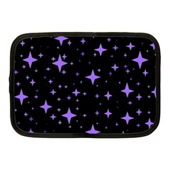 Bright Purple   Stars In Space Netbook Case (medium)  by Costasonlineshop