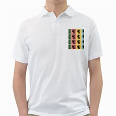 Question Face Think Golf Shirts by AnjaniArt