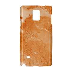 Rose Gold Marble Stone Print Samsung Galaxy Note 4 Hardshell Case