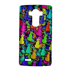 Colorful Cats Lg G4 Hardshell Case by Valentinaart