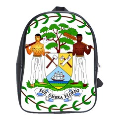 Coat Of Arms Of Belize School Bags(large)  by abbeyz71