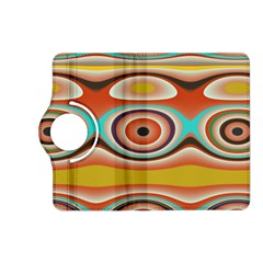 Oval Circle Patterns Kindle Fire Hd (2013) Flip 360 Case by theunrulyartist