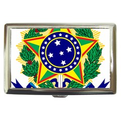 Coat Of Arms Of Brazil Cigarette Money Cases by abbeyz71