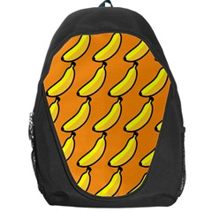 Banana Orange Backpack Bag by AnjaniArt