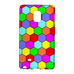 Hexagonal Tiling Galaxy Note Edge by AnjaniArt