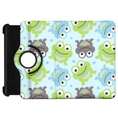 Frog Green Kindle Fire Hd 7  by AnjaniArt