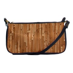 Parquet Floor Shoulder Clutch Bags by AnjaniArt