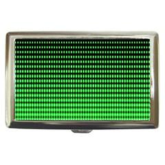 Neon Green And Black Halftone Copy Cigarette Money Cases by AnjaniArt