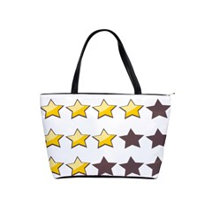 Star Rating Copy Shoulder Handbags by AnjaniArt