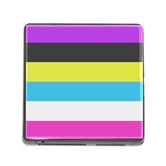 Bigender Flag Memory Card Reader (square)
