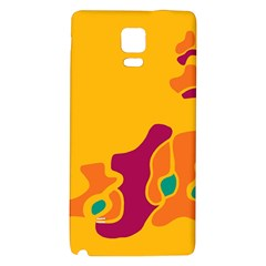 Colorful Creativity Galaxy Note 4 Back Case by Valentinaart