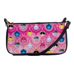 Alice In Wonderland Shoulder Clutch Bags by reddyedesign