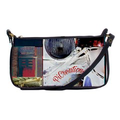 Picreations V Shoulder Clutch Bags by PiCreations