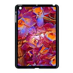 Floral Artstudio 1216 Plastic Flowers Apple Ipad Mini Case (black)