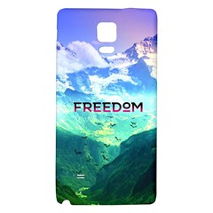 Freedom Galaxy Note 4 Back Case by Brittlevirginclothing