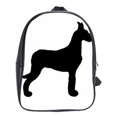Great Dane Silo Black School Bags(large)  by TailWags