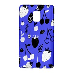 Fruit Strobery Leci Purple Galaxy Note Edge by AnjaniArt