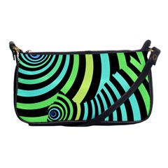 Optical Illusions Checkered Basic Optical Bending Pictures Cat Shoulder Clutch Bags by AnjaniArt