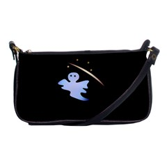 Ghost Night Night Sky Small Sweet Shoulder Clutch Bags by Amaryn4rt