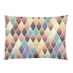 Abstract Colorful Background Tile Pillow Case (two Sides)