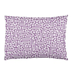 Maze Lost Confusing Puzzle Pillow Case (two Sides)
