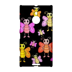 Cute butterflies, colorful design Nokia Lumia 1520 by Valentinaart