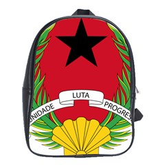Emblem Of Guinea Bissau School Bags (xl)  by abbeyz71