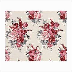 Rose Beauty Flora Small Glasses Cloth (2 Side) by Jojostore