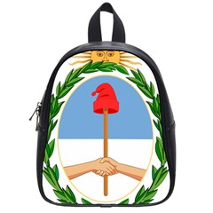 Coat Of Arms Of Argentina School Bags (small)  by abbeyz71