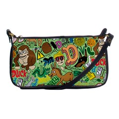 D Pattern Shoulder Clutch Bags by Jojostore