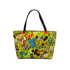 F Pattern Cartoons Shoulder Handbags by Jojostore