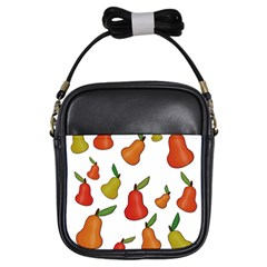 Decorative Pears Pattern Girls Sling Bags by Valentinaart