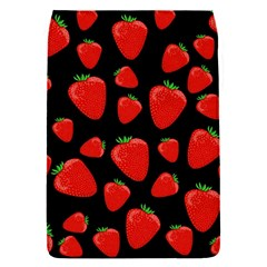 Strawberries pattern Flap Covers (S)  by Valentinaart