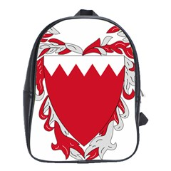Emblem Of Bahrain School Bags (xl)  by abbeyz71