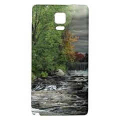 Landscape Summer Fall Colors Mill Galaxy Note 4 Back Case by Amaryn4rt
