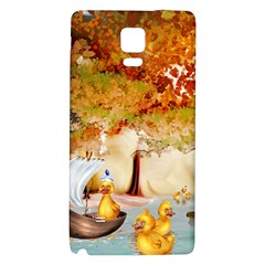 Art Kuecken Badespass Arrangemen Galaxy Note 4 Back Case by Amaryn4rt