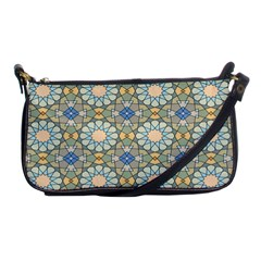 Arabesque Flower Star Shoulder Clutch Bags by AnjaniArt