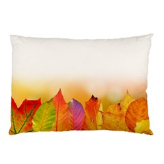 Autumn Leaves Colorful Fall Foliage Pillow Case (two Sides)