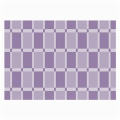 Gray Purple Large Glasses Cloth (2 Side) by Jojostore