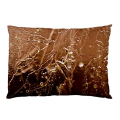 Ice Iced Structure Frozen Frost Pillow Case (two Sides)