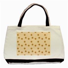 Pattern Gingerbread Star Basic Tote Bag