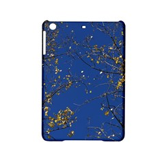 Poplar Foliage Yellow Sky Blue Ipad Mini 2 Hardshell Cases by Amaryn4rt