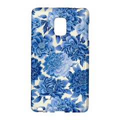 Blue Flowers Galaxy Note Edge by Brittlevirginclothing