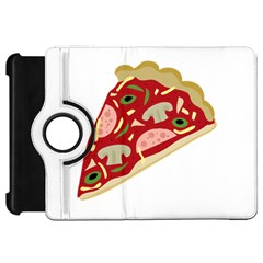 Pizza Slice Kindle Fire Hd 7  by Valentinaart