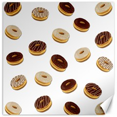 Donuts Pattern Canvas 20  X 20   by Valentinaart